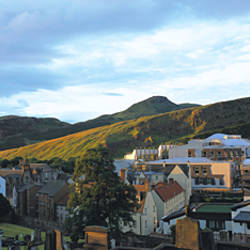 Buildings in a city, Scottish Parliamentary Buildings, Holyrood Palace, Holyrood, Edinburgh, Scotland