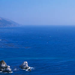 Rock formations at the coast, Big Sur, California, USA