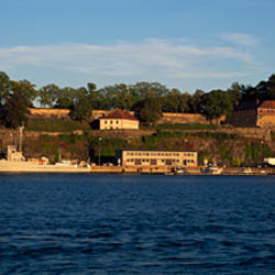 Castle at the waterfront, Akershus Fortress, Oslo, Norway