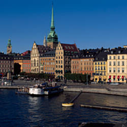 Buildings at the waterfront, Gamla Stan, Stockholm, Sweden