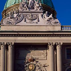 Entrance of a palace, The Hofburg Complex, Heldenplatz, Vienna, Austria