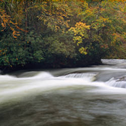 Patton's Run, Nantahala River, Nantahala National Forest, North Carolina, USA