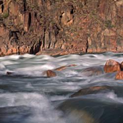 River flowing through rocks, Grand Canyon, Colorado River, Cococino County, Arizona, USA