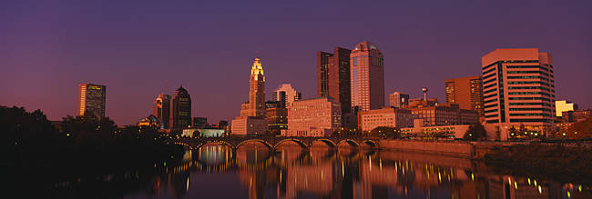 Buildings at the waterfront, Columbus, Ohio, USA
