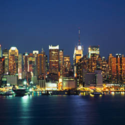 Buildings at the waterfront, Manhattan, New York City, New York State, USA