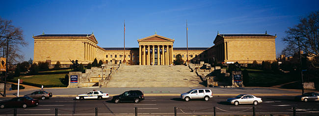 Facade of an art museum, Philadelphia Museum Of Art, Philadelphia, Pennsylvania, USA