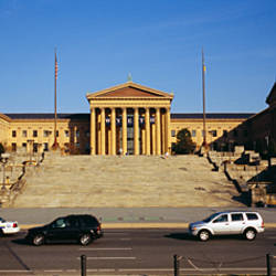 Facade of an art museum, Philadelphia Museum Of Art, Philadelphia, Pennsylvania, USA