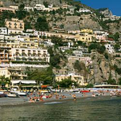 Buildings in a town, Positano, Amalfi, Amalfi Coast, Campania, Italy