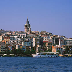 Buildings at the waterfront, Istanbul, Turkey