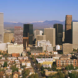 Skyscrapers in a city, Denver, Colorado, USA