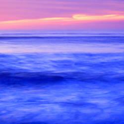 Sunset over an ocean, Pacific Ocean, La Jolla, California, USA