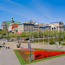 Buildings in a city, Place Jacques Cartier, Montreal, Quebec, Canada