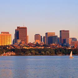 Skyscrapers at the waterfront, Boston, Massachusetts, USA