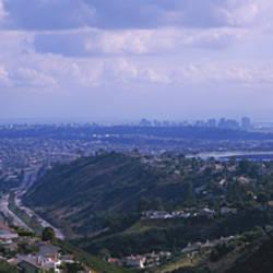 High angle view of a bridge, Coronado Bridge, San Diego, California, USA