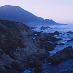 Rock formations on the coast, Big Sur, Garrapata State Beach, Monterey Coast, California, USA