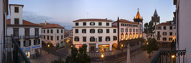 Buildings in a city, Funchal, Madeira, Portugal