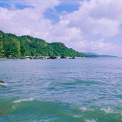Panoramic view of the sea, Montezuma, Costa Rica