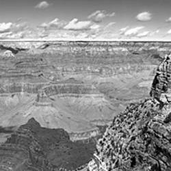 USA, Arizona, Grand Canyon, High angle view of a landscape