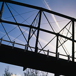Low angle view of a bridge, California, USA