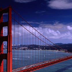 Bridge Over A River, Golden Gate Bridge, San Francisco, California, USA