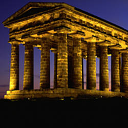 Low Angle View Of A Building, Penshaw Monument, Durham, England, United Kingdom