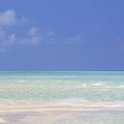 Panoramic view of an ocean, Indian Ocean, Maldives