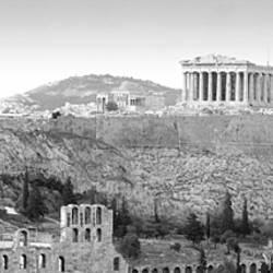 High Angle View Of Buildings In A City, Parthenon, Acropolis, Athens, Greece