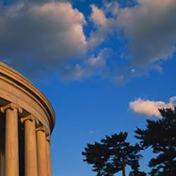 Clouds over a memorial, Jefferson Memorial, Washington DC, USA