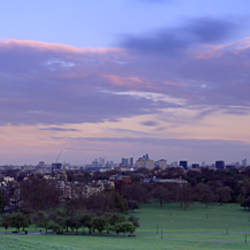 Building In A City Near A Park, Primrose Hill, London, England, United Kingdom