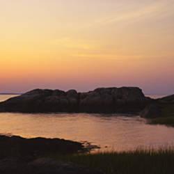 Lighthouse on the coast, Cape Ann, Gloucester, Massachusetts, USA