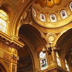 Interiors of a church, St. Mary's Church, Chicago, Illinois, USA