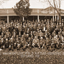 Annual Outing Washington Lodge 15 BPO Elks (Benevolent & Protective Order of Elks) of the USAChesapeake Beach Maryland September 1917