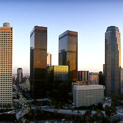 USA, California, Los Angeles, Skyline of the city
