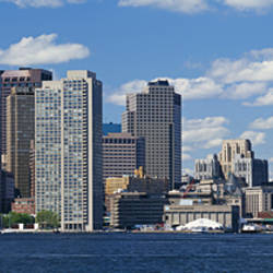 Buildings at the waterfront, Boston, Massachusetts, USA