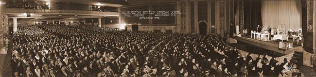 Washington Herald Cooking School Tivoli Theater November 1936