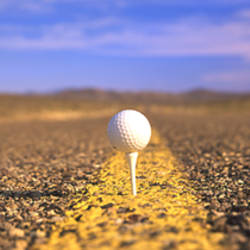 Golf Ball Highway Nevada USA