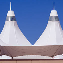 Roof of a terminal building at an airport, Denver International Airport, Denver, Colorado, USA