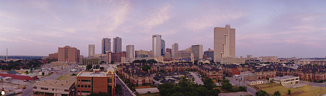 Skyscrapers in a city, Fort Worth, Texas, USA