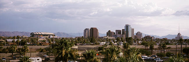 USA, Arizona, Phoenix, High angle view of the city