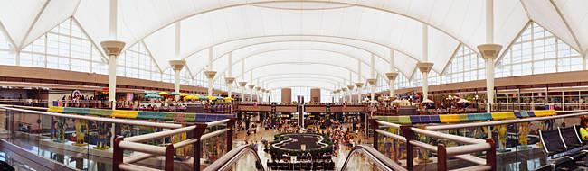 Concourse of an airport, Denver International Airport, Denver, Colorado, USA