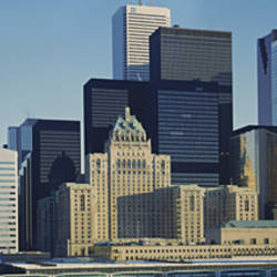 Buildings In A City, Toronto, Ontario, Canada