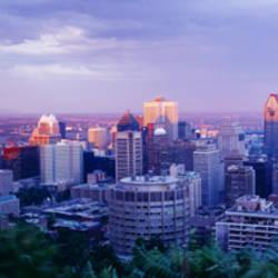 Dusk, Montreal, Quebec, Canada