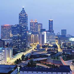 Evening In Atlanta, Atlanta, Georgia, USA