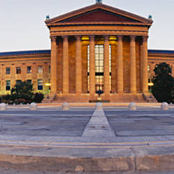 Facade of a museum, Philadelphia Museum Of Art, Philadelphia, Pennsylvania, USA