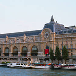 Museum on a riverbank, Musee D'Orsay, Paris, France