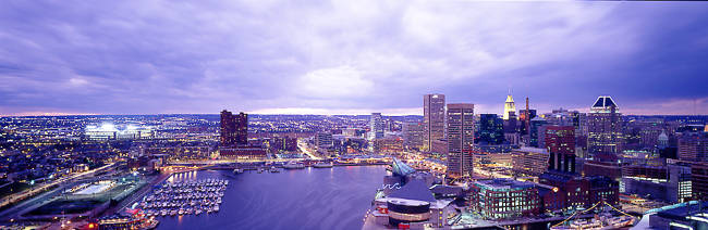 USA, Maryland, Baltimore, cityscape