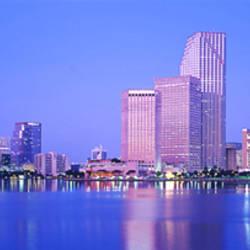 Dusk, Miami Florida, USA