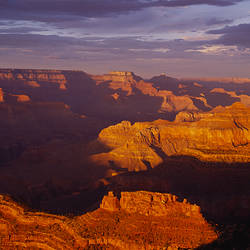 High angle view of canyons, Grand Canyon, Grand Canyon National Park, Arizona, USA