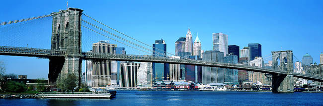 USA, New York, Brooklyn Bridge