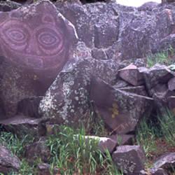 Petroglyph Horse Thief Lake State Park Klickitat County WA
